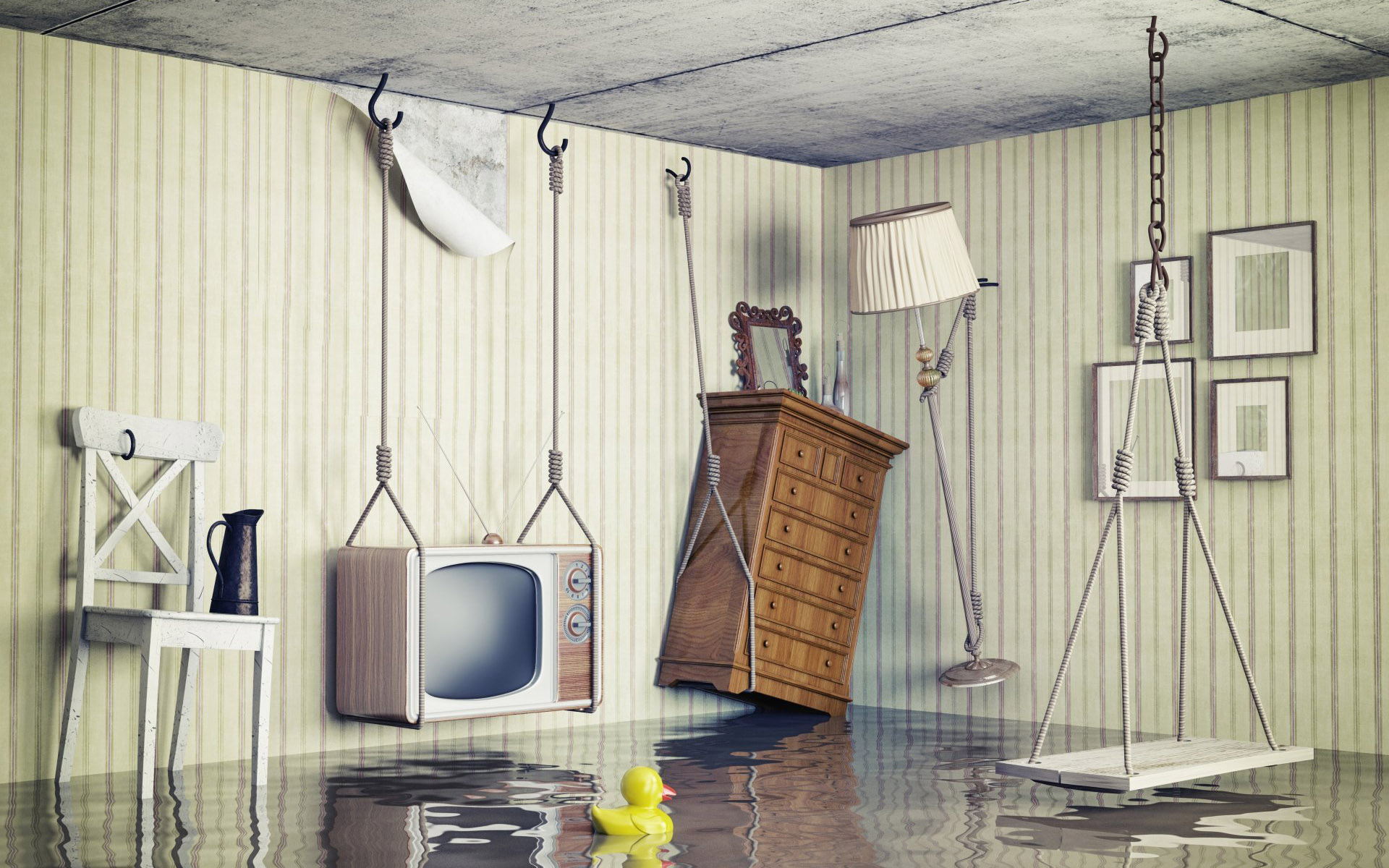Затопило квартиру: как спасти ремонт